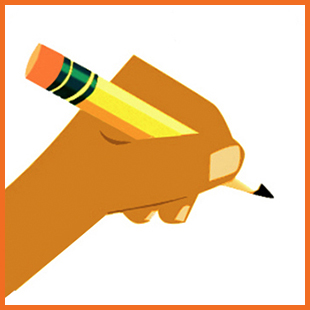 writing icon 310